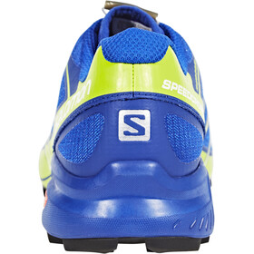 Salomon Speedcross Pro Shoes Men surf the web/lime green/black